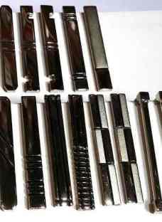 Trabacorbata Para Corbatin 45mm- Excelente Calidad- Niquelad
