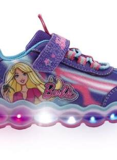 Zapatillas Barbie Con Luces Footy #818 #819 Mundo Manias