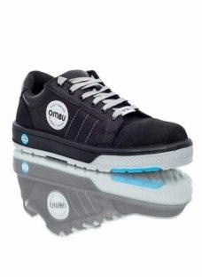 Zapato/zapatilla De Seguridad Con Puntera Ombu Sneaker
