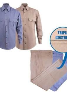 Ropa De Trabajo Pantalon Camisa X Unidad Oferta