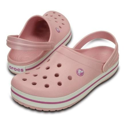 Sandalia Crocs Crocband Mujer Rosa Original