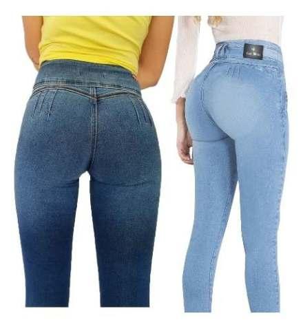 Jeans Levanta Cola X 2 Unidades Marca Casi Bruja