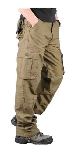 *pack Por 2* Pantalon Cargo Gabardina Reforzada Hard Work