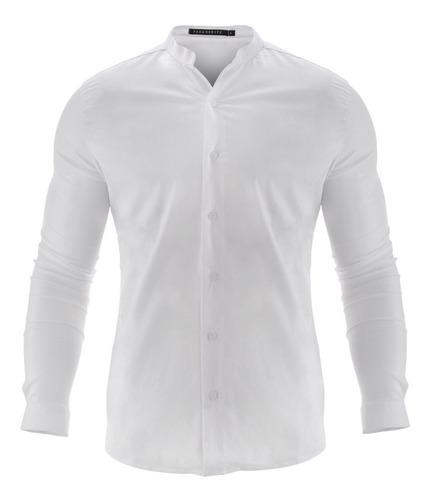 Camisa Hombre Farenheite Cuello Mao