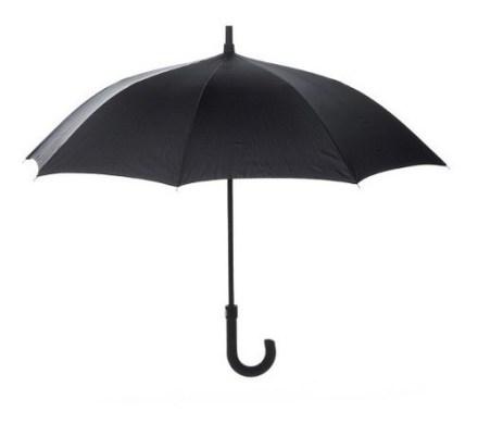 Paraguas Negro De Alta Calidad
