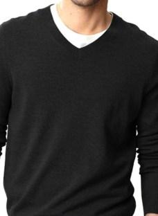 Sweater Hombre Pullover Hombre Escote O Y V Varios Colores
