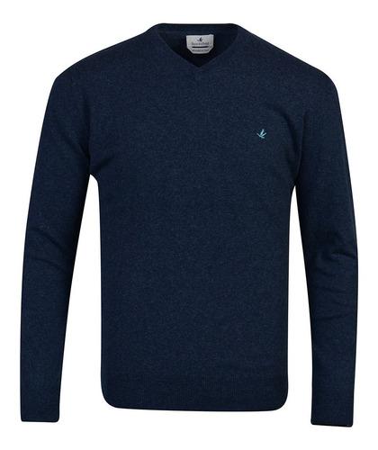 Sweaters Buzos Pullover Hombre Algodon Tejido Premium Brooksfield