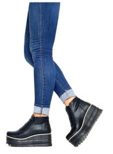 Zapatos Botas Botin Temporada 2020 Plataforma Goma Colores