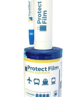 Film Protector Para Valijas Travel Blue