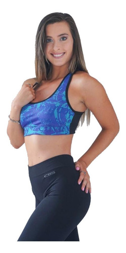 Top Lycra Deportivo Mujer Pack X3 Talles : 1 Al 5