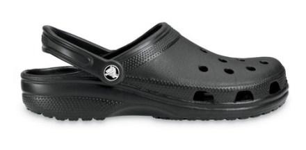 Crocs Originales Classic Negro Unisex Hombre Mujer