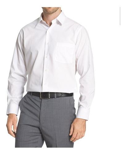 Camisa Blanca Vestir De Hombre Talle Especial