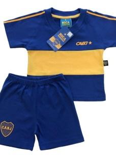 Conjunto De Bebe Boca Juniors Retro Producto Oficial