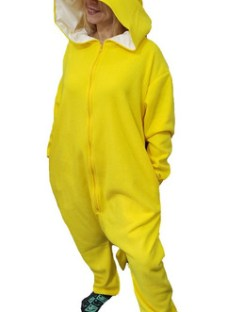 Pijama Disfraz Pikachu Algodon Kigurumi Para Adultos