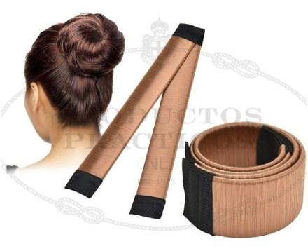 Rodete Tira Magica Fashion Hair Fast Bun Maker Exclusivo