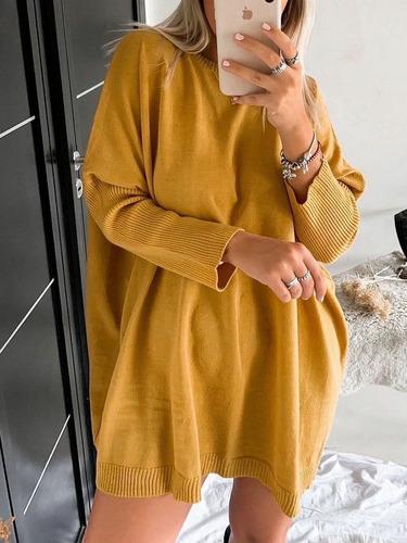 Sweater Lana Super Mega Ancho Over Size Xxxl
