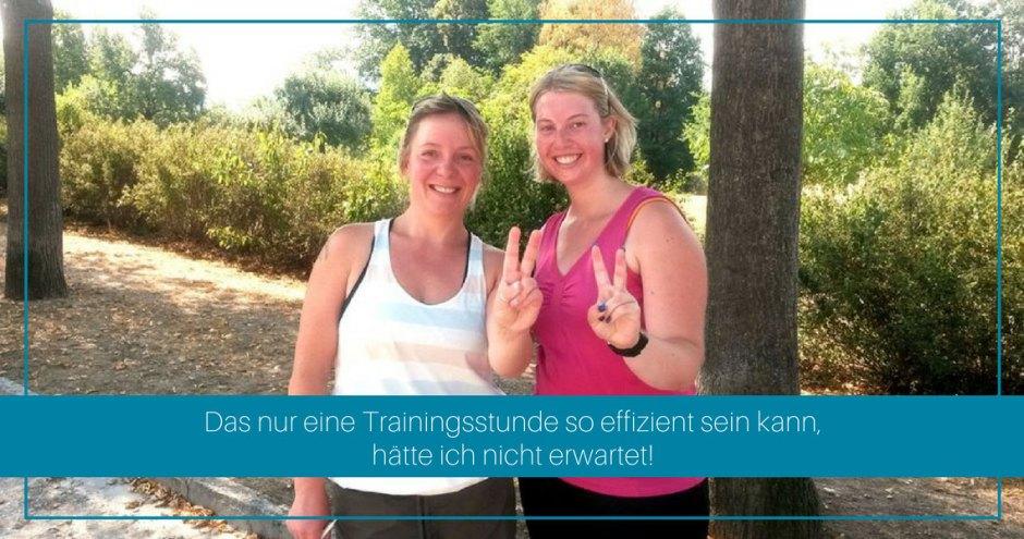 erfolgreich beim personal training