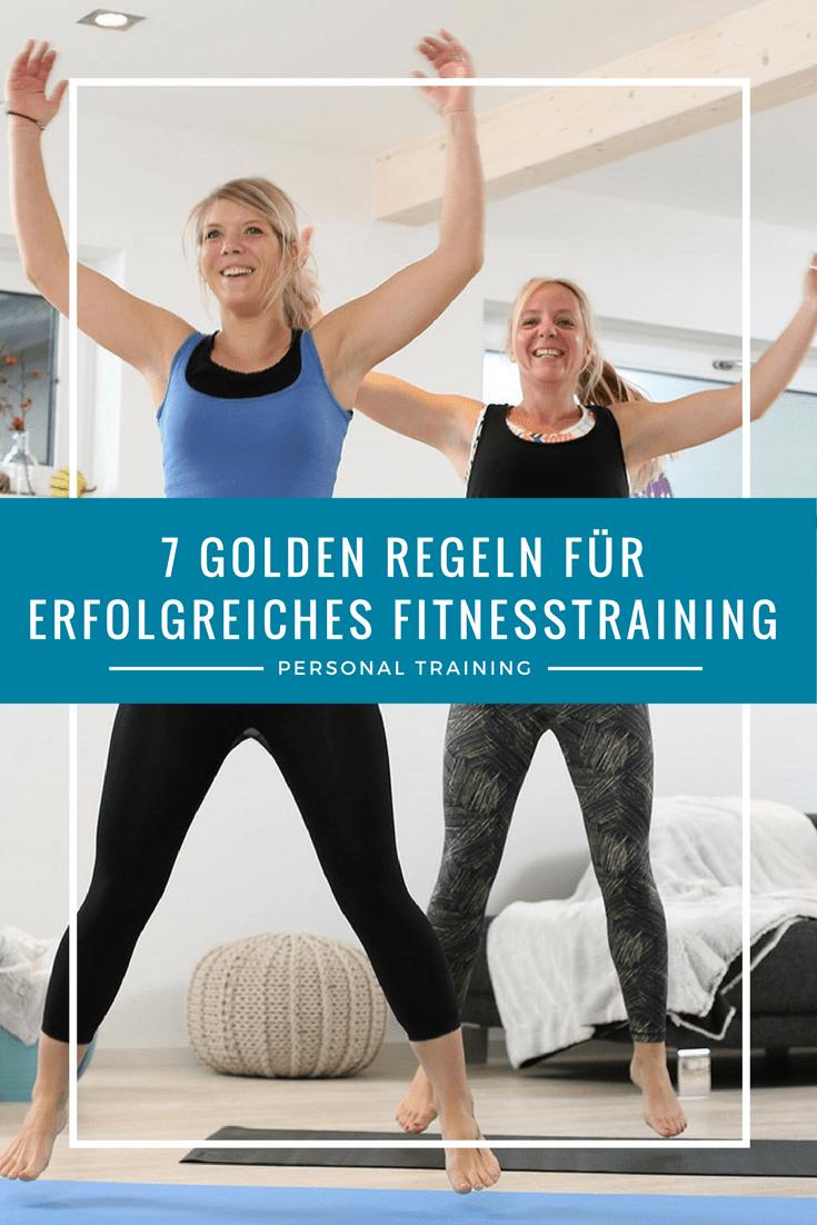 Sieben Regeln für dein erfolgreiches Fitnesstraining