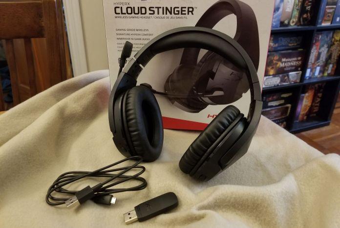 Resultado de imagem para Headset HyperX Cloud Stinger Wireless PC