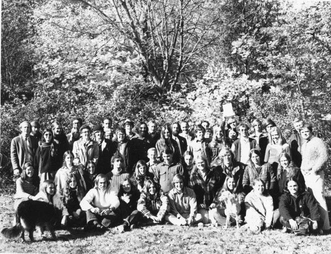 The first incoming class at COA, 1972.
