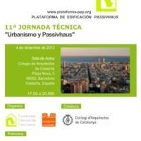 """Jornada """" Urbanisme i Passivhaus"""""""