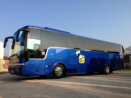 Bus and minibus to hire in Dreux