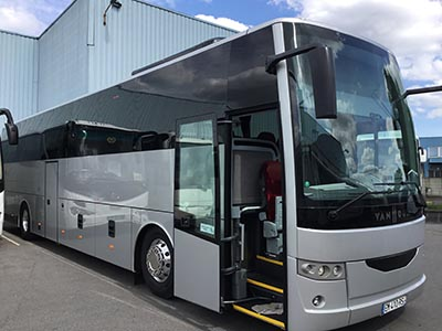Bus charter in Le Mans