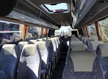Coach hire with driver in Chateauroux