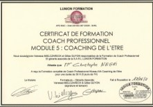 Coach professionnel certifié