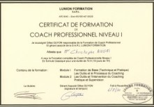 Diplôme de coach