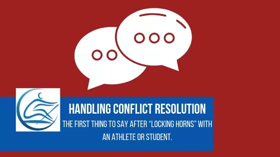 coach athlete conflict resolution(1)