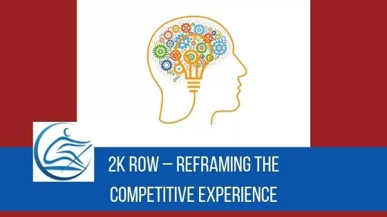 2k row mindset indoor rowing meditation self compassion handling anxiety