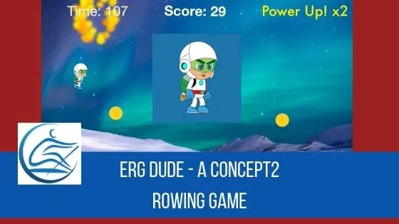 Concept2 Rowing Game Erg Dude iOS App Store