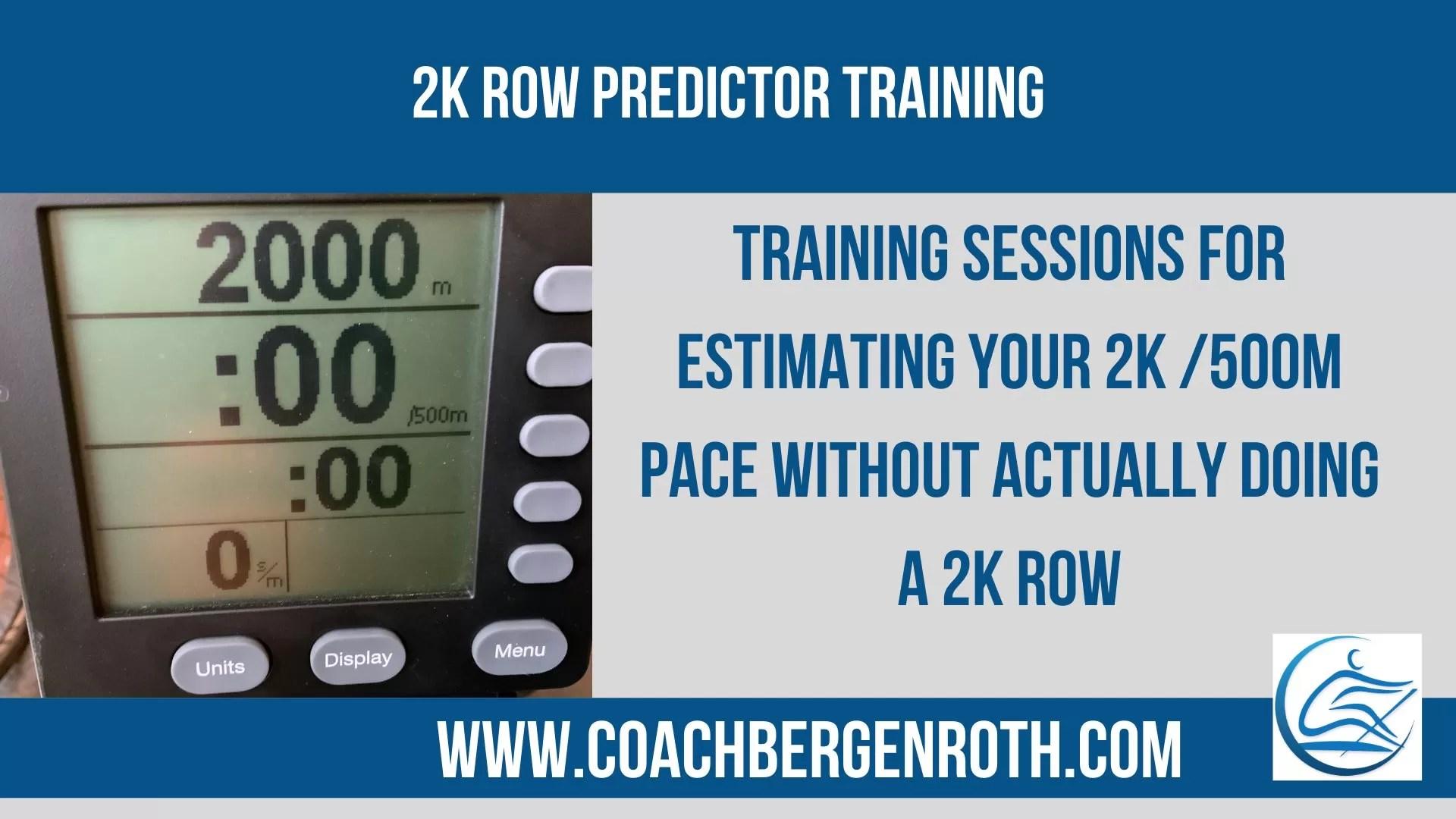 2k Row Predictor Training