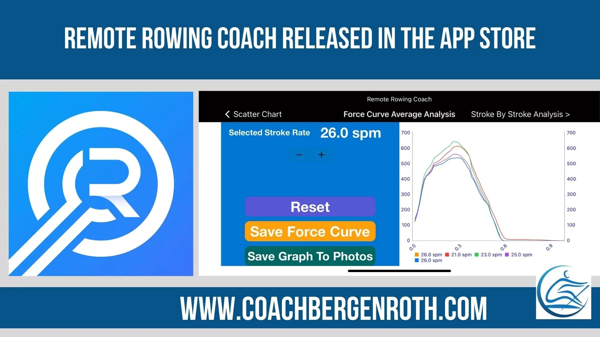 rowing coach app ios coach bergenroth force curve rowing data concept2