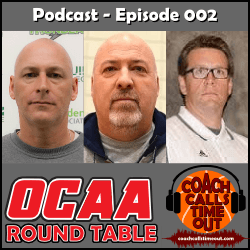 OCAA Round Table - Coach Calls Timeout Basketball Coaching Podcast