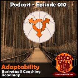 Adaptability, Basketball Coaching Roadmap - Coach Calls Timeout Basketball Coaching Podcast