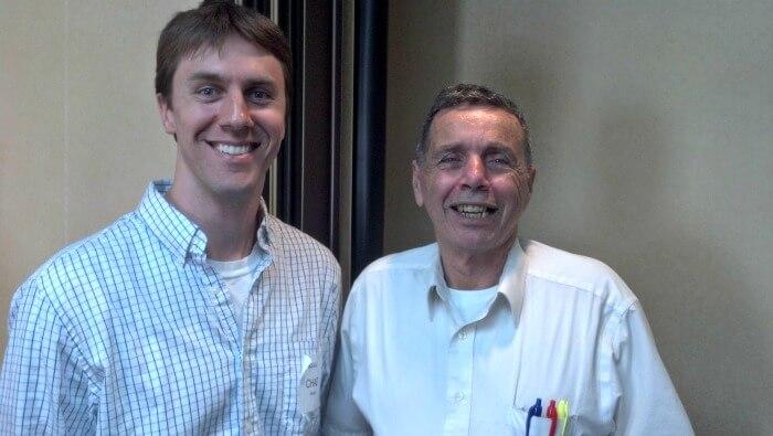 Pete Fortunato and Chad Carson at seminar