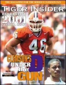 Chad Carson - Clemson Football magazine cover Tigernet