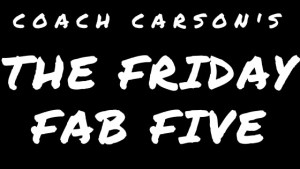 Friday Fab Five – 2/26/2016 – Travel Hacking 101, Selling My Stuff, Bookkeeping Basics, & More
