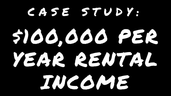 $100,000 Rental Income Case Study