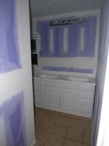 rental house appreciation - remodel - master bath