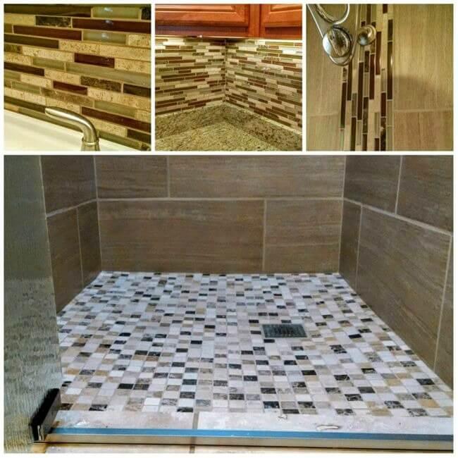 Live-in Flip - tile shower