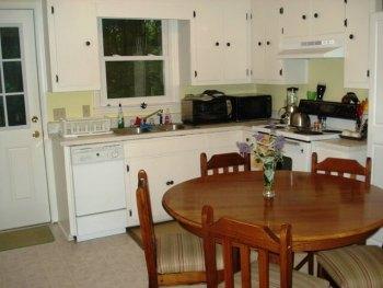 House hacking fourplex - after - kitchen