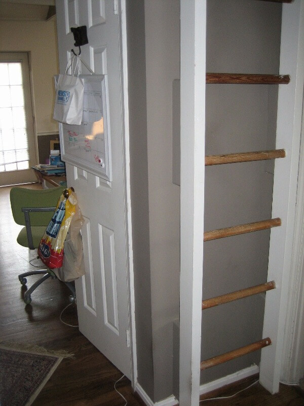 From Accidental Landlord to Positive Cashflow - Ladder to loft space - below