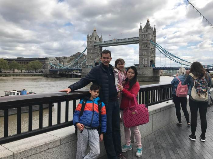 Family vacation in London - Real Estate Investing While Overseas in the Military