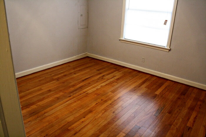 gleaming hardwoods in my over improved rental - Real Estate Investing While Overseas in the Military