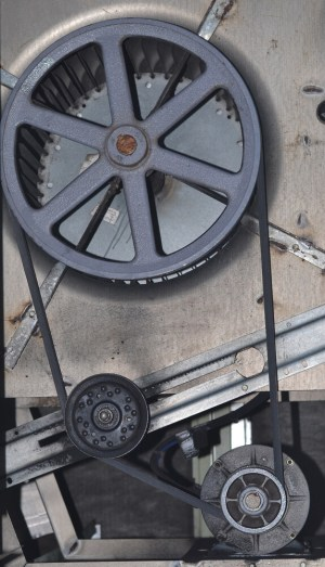 Ultimate Guide to HVAC Systems For Rental Properties - Belt and Pulley for HVAC system