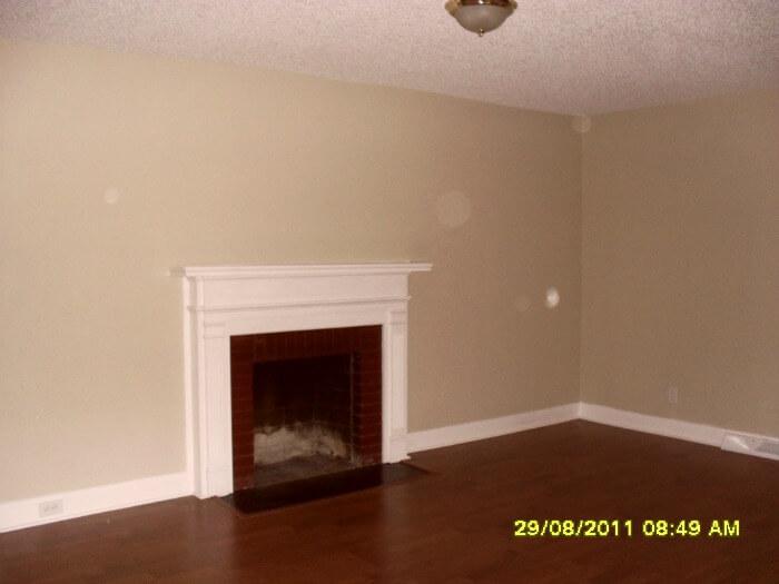 rental house - living room