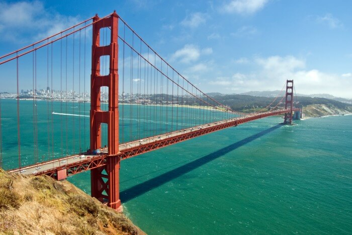 1% rule in high-priced markets - Golden Gate Bridge, San Francisco
